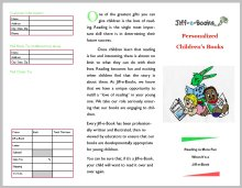 Personalized Book Brochure